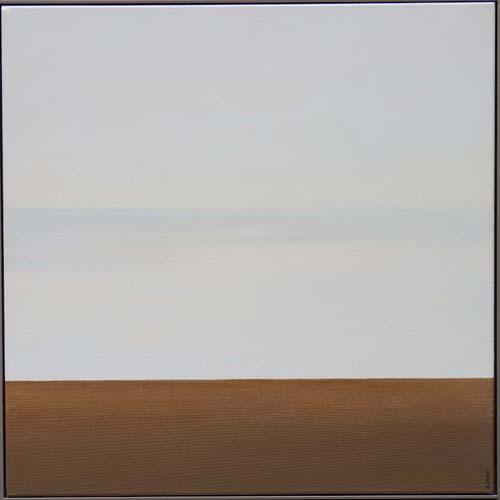 Karl Inglin, Paysage, huile sur toile, 60 x 60 cm (disponible)