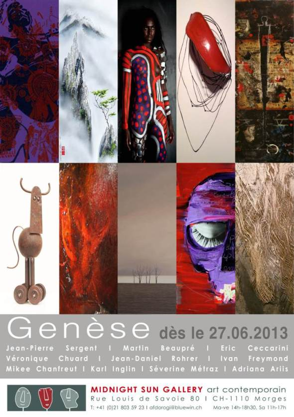 genèse invitation