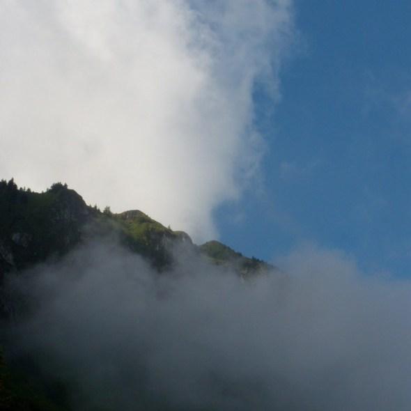 Les montagnes jouent à cache-cache